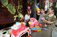 A series of exciting Mid-autumn activities in Hanoi's Old Quarter