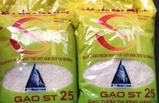 Rice ST25: Affirmation for Vietnamese brands in the international market