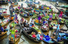Cai Rang Floating Market - A special destination you cannot miss when visiting Can Tho