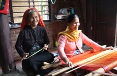 The aged-old weaving trade in the life of Cham people in Ninh Thuận