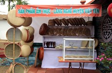 Visit a traditional village that is famous for its rattan and bamboo products