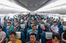 Vietnam Airlines' first Boeing 787-10 commerical fight takes off