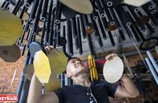 Duc Tran's meditation music wind chimes