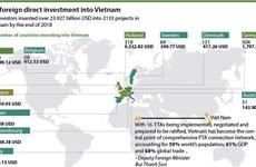EU foreign direct investment into Vietnam