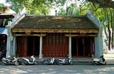 Unique architecture of Ba Kieu temple