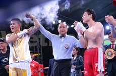 First Vietnamese wins WBA Asia East boxing title