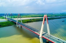 Seven key bridges in Hanoi