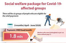 Social welfare package for pandemic-affected groups