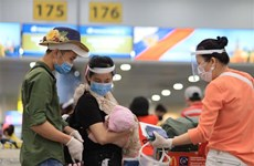 Vietnamese citizens brought home from Russia