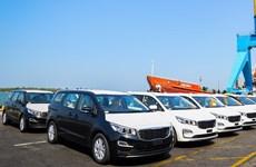 THACO exports 40 Kia Grand Carnival cars to Thailand