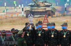 Vietnam triumphs in Tank Biathlon of 2020 Army Games