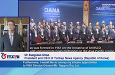 Yonhap President congratulates Vietnam News Agency on 75th founding day
