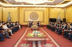 Speaker of Korean National Assembly visits Ninh Binh province