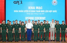 Training course for UN staff officer opens