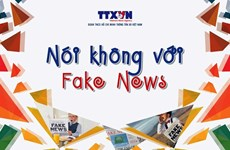 Vietnam News Agency's anti-fake news project wins int'l press prize