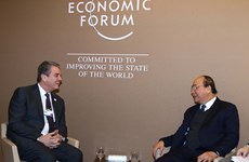 Prime Minister active at WEF meetings