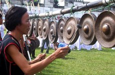 Central Highlands gong culture space