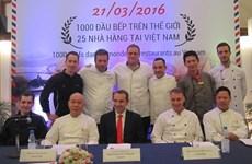 Gout de France culinary festival honours French cuisine
