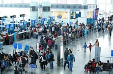 Noi Bai int'l airport among world's top 100 for fifth consecutive year