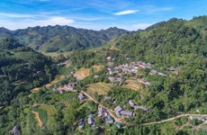 Stunning beauty of Bac Ha as seen from above