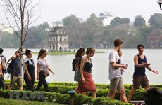 Hanoi sees surge in visitors in July