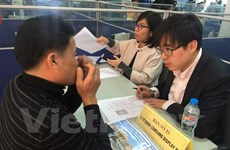 Returning Vietnamese workers from RoK recruited at home
