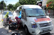 Free rides helping patients in Da Nang