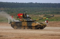 Vietnam makes impressive performance at Army Games 2020