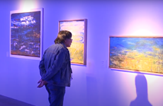 Exhibition offers audiences a touch of the deep ocean