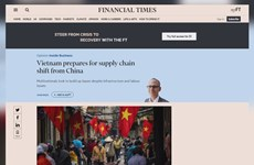 UK newspaper spotlights Vietnam's emergence in global supply chain