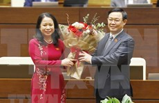 Vo Thi Anh Xuan elected as Vice State President of Vietnam