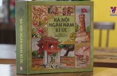Discovering Hanoi through 3D pop-up book