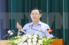 Legislative leader meets with voters in Hai Phong