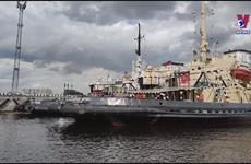 Uncle Ho's imprint in Saint Petersburg