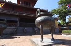 Nine Dynastic Urns in Hue seeking for UNESCO recognition