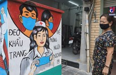 Electricity boxes given facelift in pandemic prevention efforts
