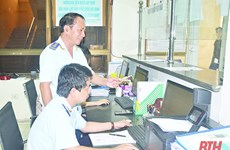 Thanh Hoa Customs Department resolves to facilitate import, export of goods