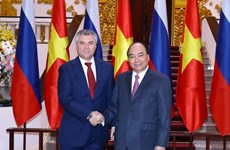 Prime Minister receives Chairman of Russia's State Duma