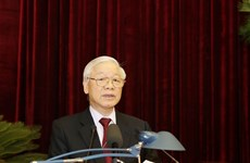 Party Central Committee convenes ninth session