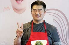 Chef brings best of Korean cuisine to Vietnam
