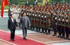 Photos of DPRK Premier Kim Yong-il's visit to Vietnam