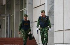 Military adopts maximum security measures for summit