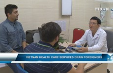 Vietnam health care services draw foreigners
