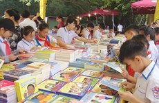 Book fair kicks off as part of upcoming Hung Kings Temple Festival