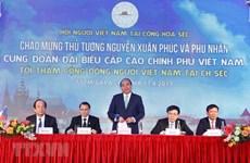 Prime Minister meets overseas Vietnamese in Czech Republic