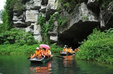 Trang An landscape complex welcomes 5 million visitors