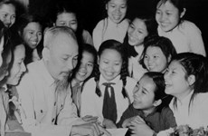 Uncle Ho and his great love for children