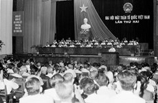 Vietnam Fatherland Front celebrates 64th founding anniversary