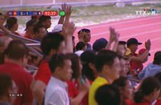 Vietnam continues amazing run at SEA Games with 6-1 win over Laos