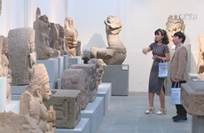 Exhibits at Cham Sculpture Museum on 100th anniversary